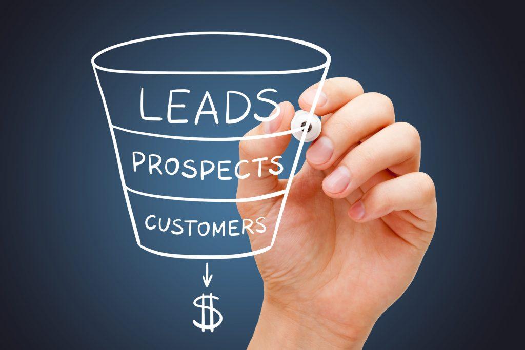 Sales Funnel: van leads naar prospect en customers