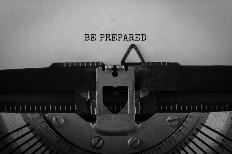 Crisiscommunicatie, be prepared
