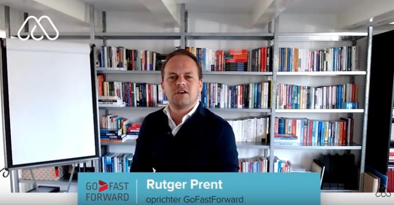 Rutger Prent, oprichter GoFastForward