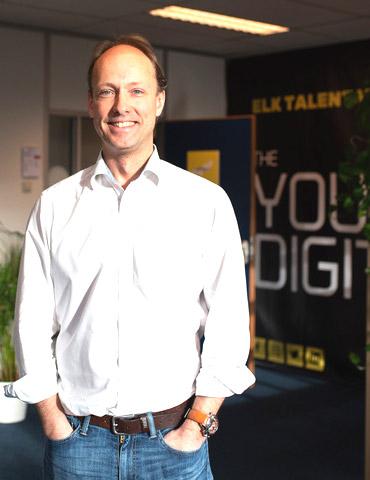 Sjoerd Hauptmeijer, medeoprichter The Young Digitals