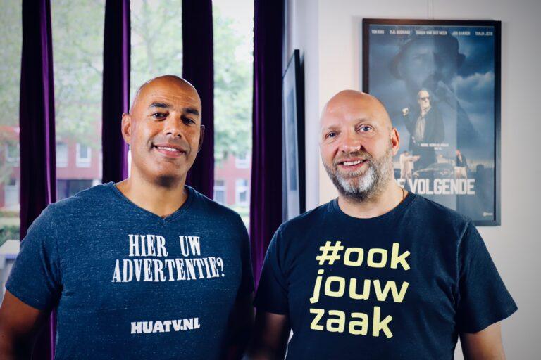 Frank Valies (links) en Ruben van der Meer (rechts)